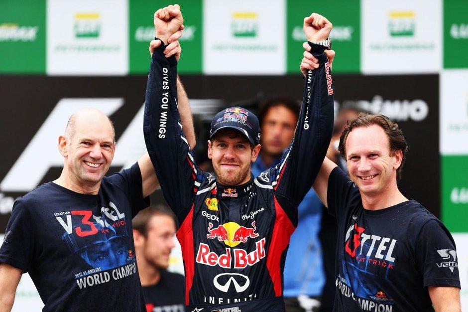 Vettel obtine un nou titlu mondial la formula 1 dupa o cursa cu patru opriri la boxe in marele premiu al braziliei