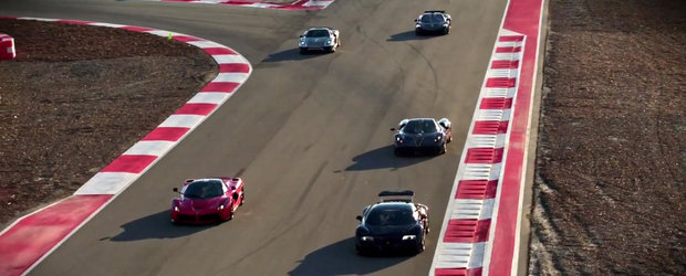 Veyron, Huayra, 918, P1 si LaFerrari o pun de un show pe cinste.