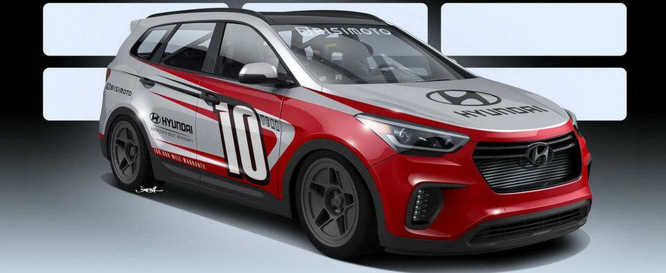 Vezi acest Hyundai modificat in Photoshop? Va avea 1.040 CP odata ce va prinde viata