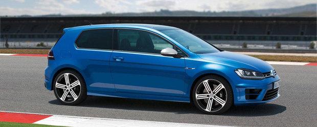 VEZI CAT costa in Romania noul Volkswagen Golf R