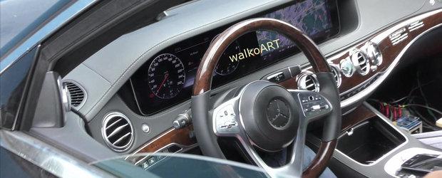 VEZI chiar acum cum va arata interiorul noului Mercedes S-Class care va debuta luna viitoare, la Paris