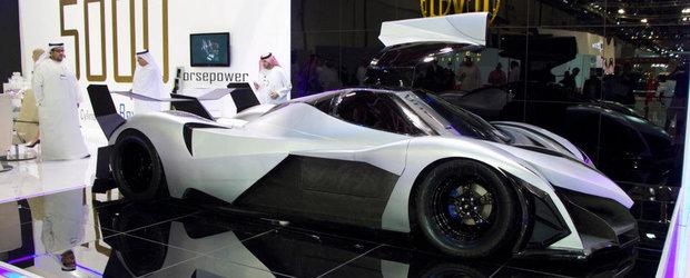VEZI cum arata noul Devel Sixteen, supercarul arab de 5.000 CP si 560 km/h!