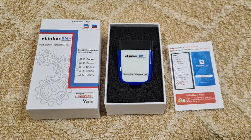 Vgate vLinker BM+ Bluetooth 4.0 BLE+ BMW BimmerCode diagnoza codari activari