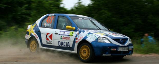 Victorie la Debutanti Cupa Dacia in raliul de casa