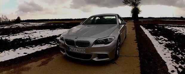 VIDEO: 0 - 250 km/h la bordul recent-lansatului BMW M550d xDrive!