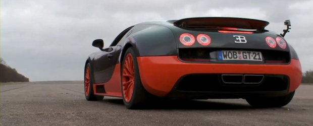 Video: 0 - 360 km/h la bordul impresionantului Bugatti Veyron Super Sport!