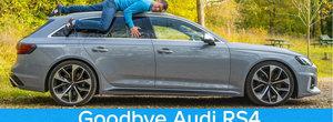 VIDEO: A trait sase luni de zile cu un Audi RS4, iar acum spune lumii intregi cum a fost