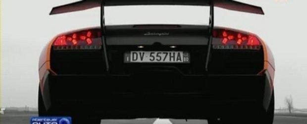 Video: Abenteuer Auto testeaza noul Murcielago LP670-4 SV!