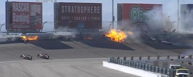 Video: accident mortal la Indy 500, in Las Vegas