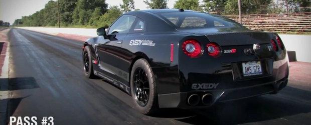 VIDEO: AMS Alpha 12 este un Nissan GT-R de peste 1.300 cai putere si 9.05 secunde!
