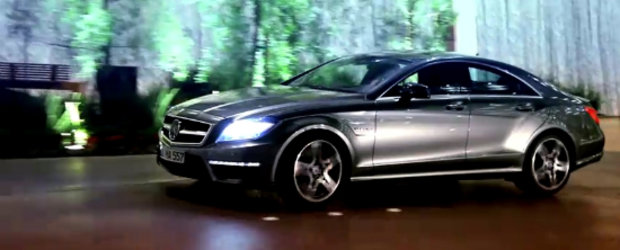 Video: Apetisantul Mercedes CLS63 AMG revine in lumina reflectoarelor