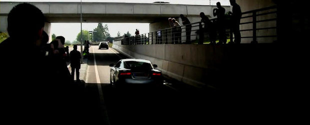 VIDEO: Aston Martin DBS in tunel!