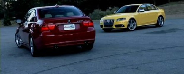 Video: Audi invinge BMW? S4 vs. 335i
