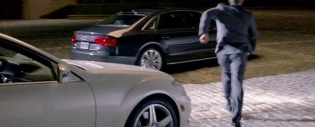 Video: Audi ironizeaza  intr-o noua reclama limuzina Mercedes S-Class!
