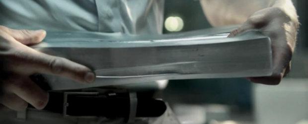 Video: Audi modeleaza aluminiul ca pe plastilina in ultima sa reclama
