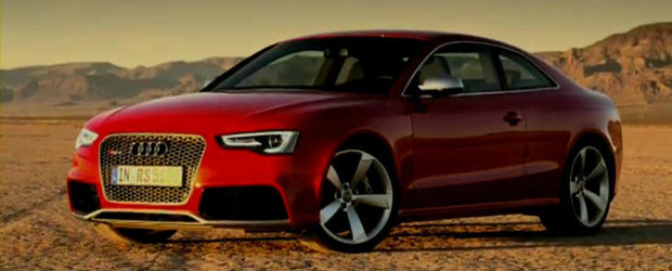 VIDEO: Audi ne invita sa descoperim in detaliu noul RS5 Coupe