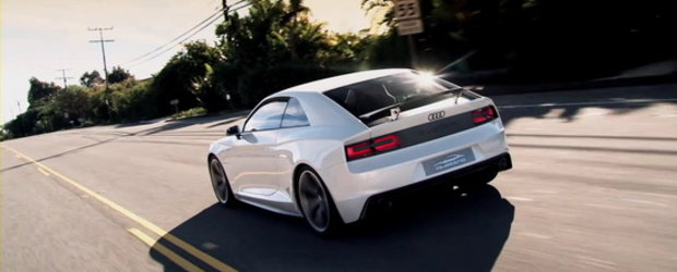 Video: Audi Quattro Concept cucereste California!