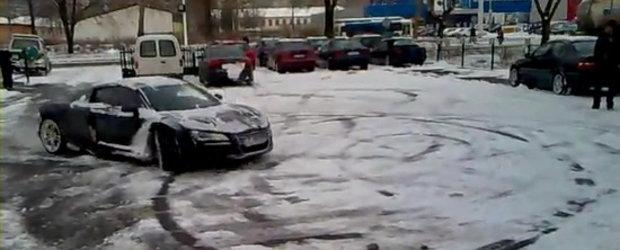 Video: Audi R8 se dovedeste un drifter grozav... de sezon
