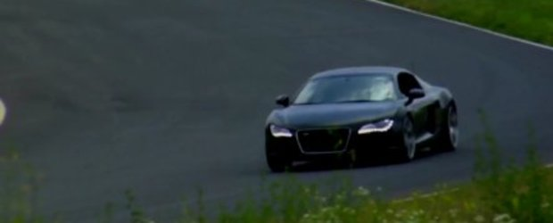 Video: Audi R8 V8 Supercharged, mai rapid decat V10-le FSI?