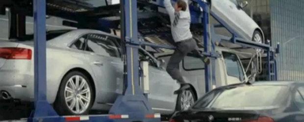 Video: Audi ridiculizeaza BMW intr-o noua reclama!