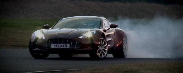 VIDEO: Autocar gusta o portie sanatoasa de Aston Martin One-77!