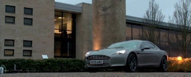 Video: Autocar testeaza noul Aston Martin Rapide