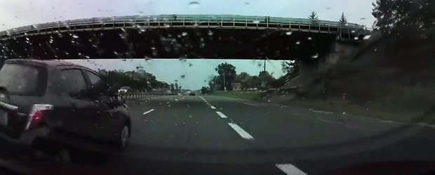VIDEO: Autopilotul de la Tesla trage singur de volan si evita un accident in ultima clipa