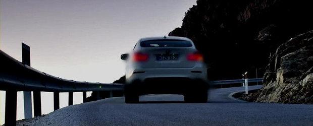 VIDEO: BMW lanseaza un nou teaser cu viitorul X6 M50d