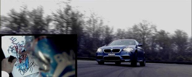 VIDEO: BMW M prezinta cea mai rapida Felicitare de Craciun din intreaga lume!