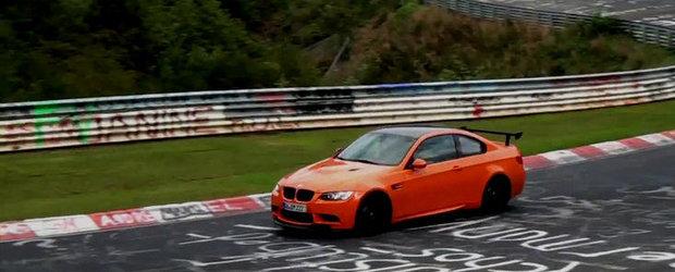 Video: BMW M3 GTS la Nurburgring