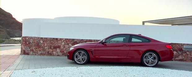 VIDEO: BMW prezinta in actiune si detaliu noul Seria 4 Coupe