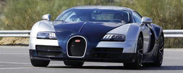 Video: Bugatti Veyron Supersport ia cu asalt strazile!