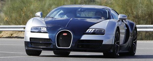 Video: Bugatti Veyron Supersport ia cu asalt strazile!
