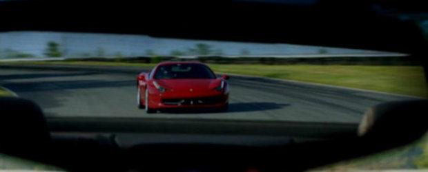 VIDEO: Cadillac ridiculizeaza Ferrari intr-o scurta reclama