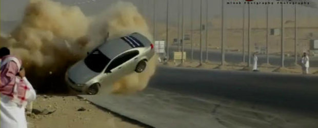 VIDEO: Cand drifturile arabilor merg prost...