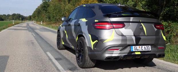 VIDEO: Cat de tare fuge un Mercedes cu 900 CP si 1150 Nm sub capota?