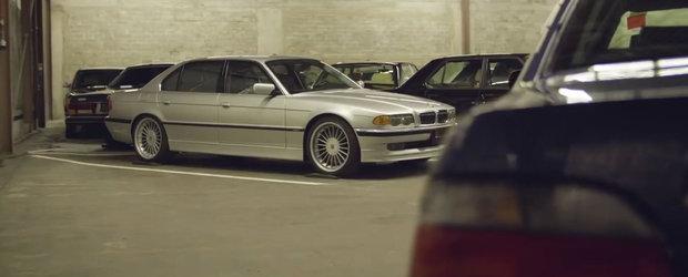 VIDEO: Cea mai impresionanta colectie din lume are 3 Alpina E38, un Mercedes cu motor de 7.0 litri si...