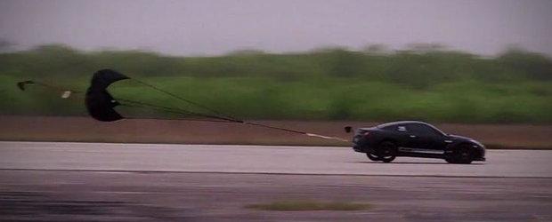 VIDEO: Cel mai puternic Nissan GT-R din lume aproape ca-si ia zborul la Texas Mile