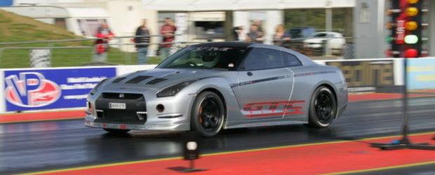 VIDEO: Cel mai rapid Nissan GT-R din Europa - 9.84 secunde pe sfertul de mila!
