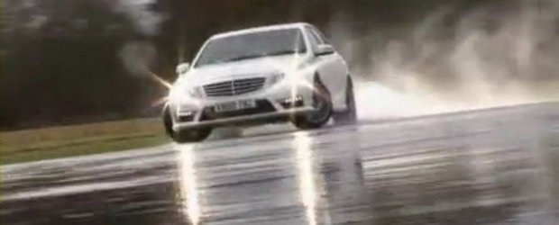 Video: Chris Harris conduce noul E63 AMG