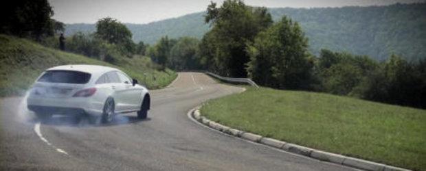 VIDEO: Chris Harris face cunostinta cu noul Mercedes CLS63 AMG Shooting Brake