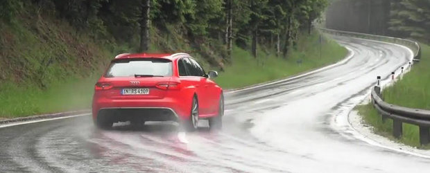 VIDEO: Chris Harris gusta din experienta Audi RS4 Avant, pluseaza cu noul C63 AMG Break!