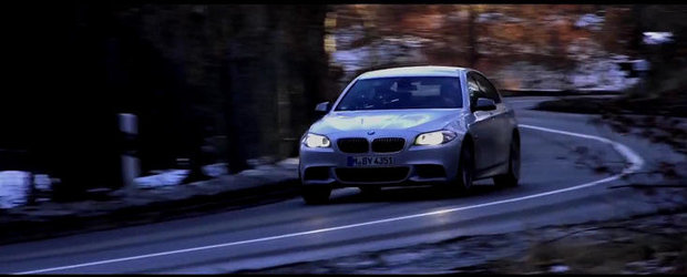 VIDEO: Chris Harris ia la testat noul-si-fenomenalul BMW M550d xDrive