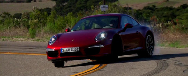 VIDEO: Chris Harris scoate untul din noul Porsche 911