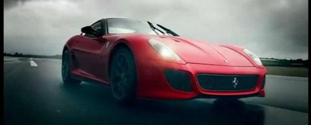 Video: Clarkson testeaza noul Ferrari 599 GTO, 250 GTO si 288 GTO nu lipsesc din peisaj