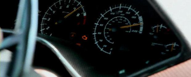 VIDEO: Cu 330 kilometri la ora pe drumurile publice!