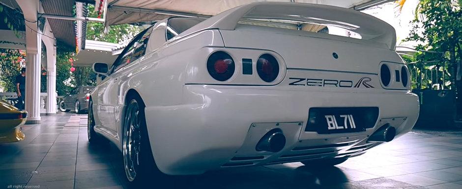VIDEO cu cel mai rar Nissan SKYLINE de pe fata Pamantului. Masina asta i-a apartinut Sultanului din Brunei
