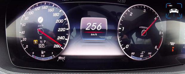 VIDEO cu cel mai tare diesel de la Mercedes. Are sase cilindri in linie si 340 CP