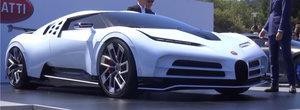 VIDEO cu noul Bugatti Centodieci. Cum arata de aproape masina mai puternica decat Chiron