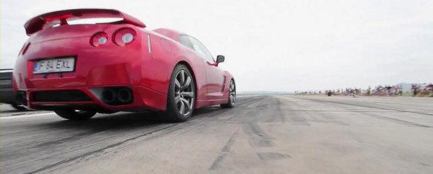 VIDEO: Cum a fost la Tulcea Drag Auto & Motto 2012